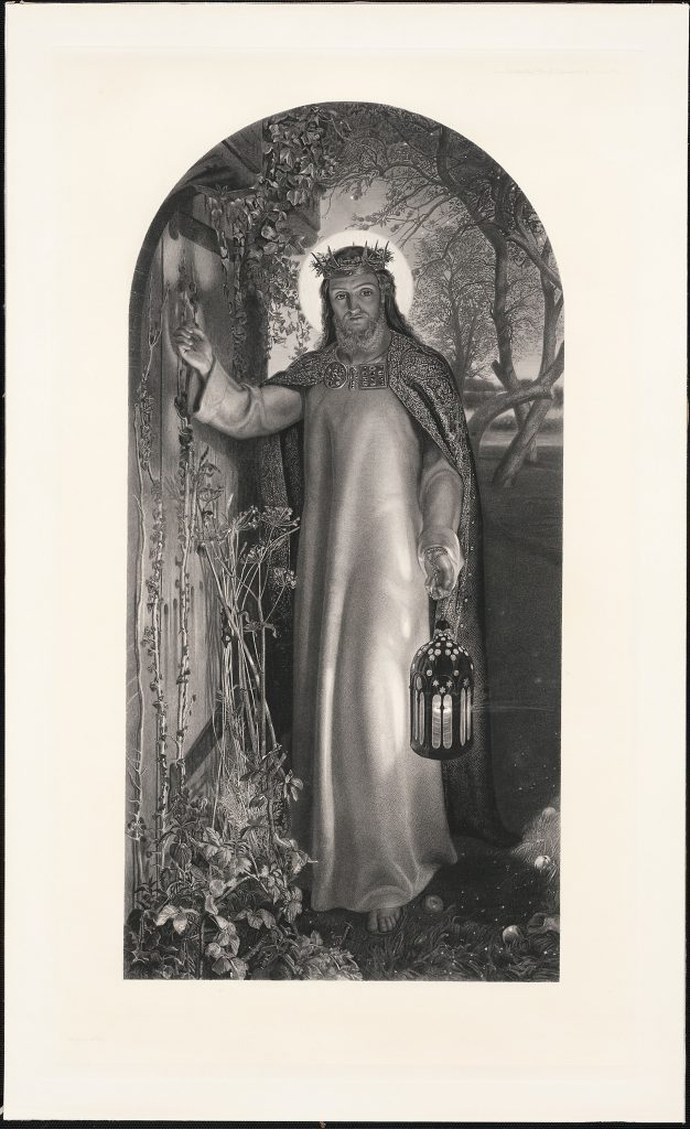 The Light of the World by William Henry Simmons. 1860. Acquired 1997